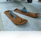 Landing skis