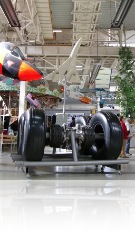 Concord's landing gear