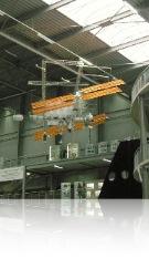 Maquette de l ISS